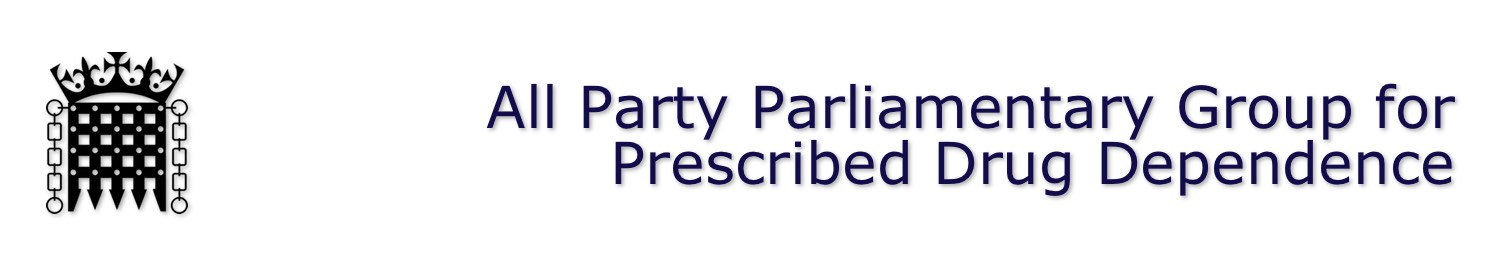 APPG for Prescribed Drug Dependence